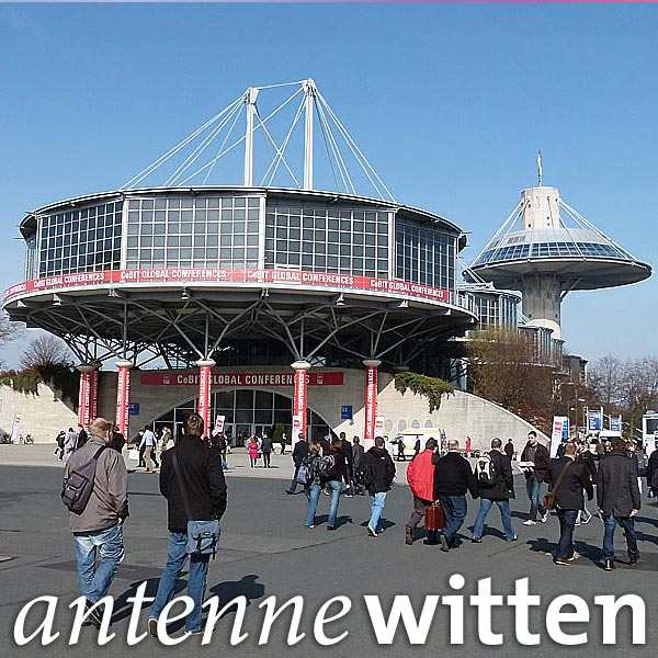 Messe Cebit in Hannover