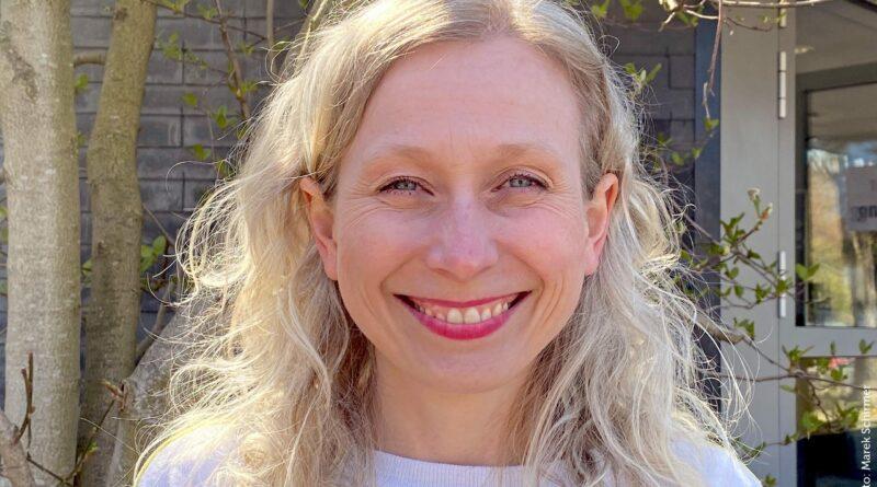 Jasmin Vogel, Vorständen des Kulturforum Witten (Foto: Marek Schirmer)